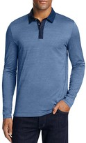 BOSS Putney Long Sleeve Slim Fit Polo Shirt