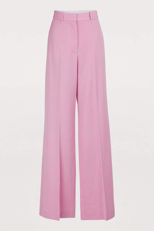 Stella McCartney Stella Mc Cartney Wide-leg wool pants