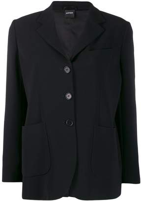 Aspesi plain single-breasted jacket