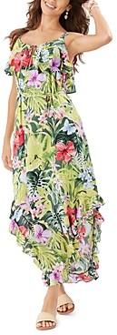 Tommy Bahama Tropolicious Printed Maxi Dress