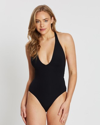 Seafolly Active V Plunge Maillot One-Piece