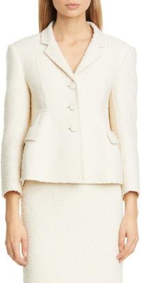 Marc Jacobs Wool Blend Boucle Jacket