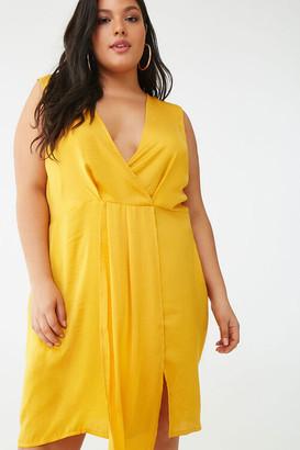 Forever 21 Plus Size Missguided Sleeveless Mini Dress
