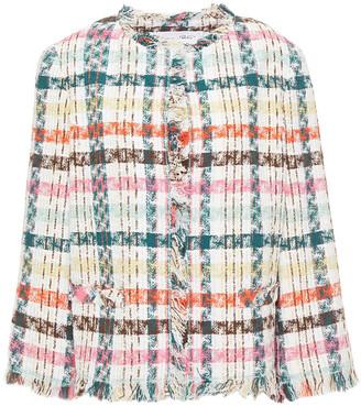 Oscar de la Renta Cotton-blend Tweed Jacket