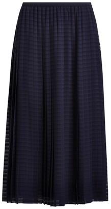 Ralph Lauren Pleated A-Line Skirt