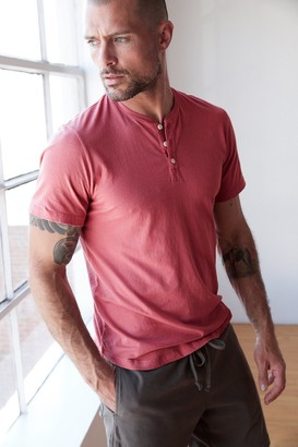 Velvet by Graham & Spencer Fulton Short Sleeve Henley