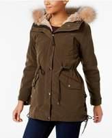 Andrew Marc Rabbit-Fur-Lined 3-in-1 Anorak Jacket