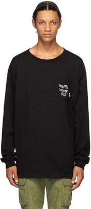 Vans Black WTAPS Edition Waffle Lovers Club Long Sleeve T-Shirt
