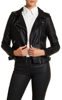 Philosophy Apparel Faux Leather Moto Jacket