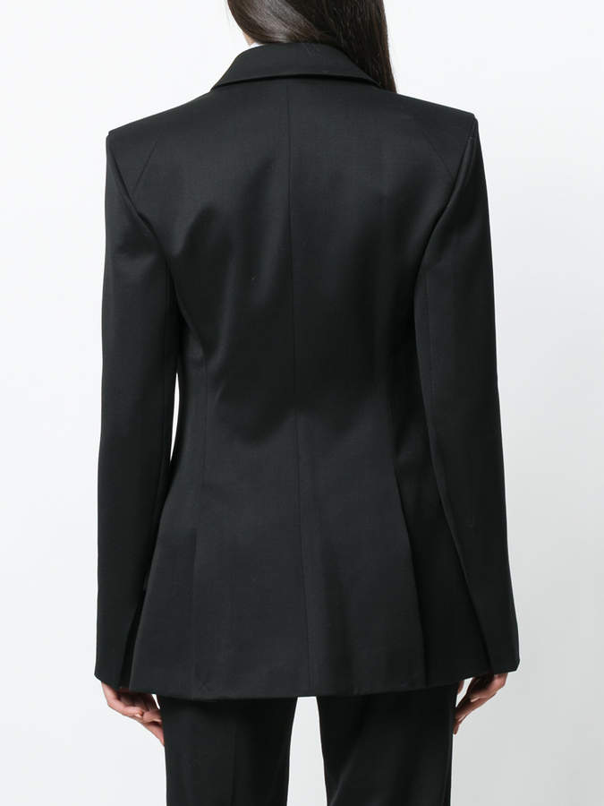 Thierry Mugler chain applique blazer