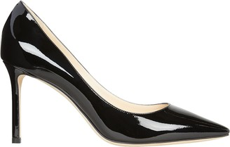 Jimmy Choo Romy 85 Patent Leather Pumps