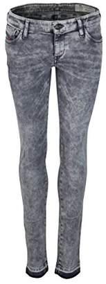 Diesel Women's Skinzee Low-C Pantaloni Skinny Jeans, (Black/Grey 0679s), 25W x 32L
