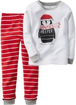 Carter's 2 Piece PJ Set (Baby) - Penguin-6 Months
