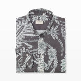 Club Monaco Slim-Fit Paisley Floral Shirt