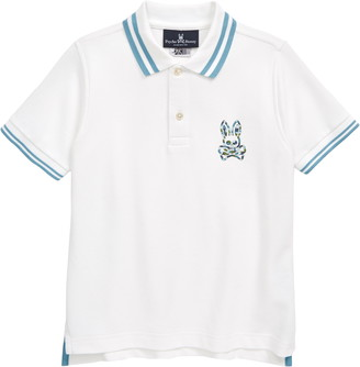 Psycho Bunny Paget Tipped Pique Polo
