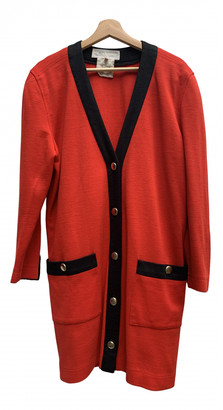 Carven Red Synthetic Jackets