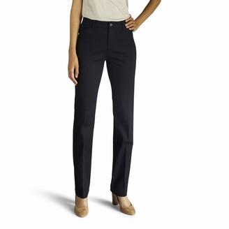 Lee Women's Size Flex Motion Regular Fit Straight Leg Pant