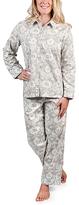 Malabar Bay Gray Jaipur Sateen Pajama Set