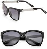 Jimmy Choo The Coras 76mm Oversized Sunglasses