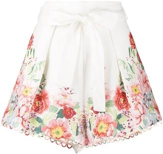 Zimmermann Bellitude floral print shorts