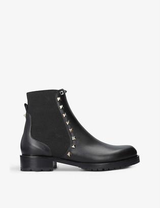 Valentino Rockstud Beatle leather Chelsea boots