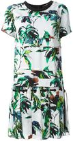 Proenza Schouler floral shift dress - women - Silk/Acetate/Viscose - 4