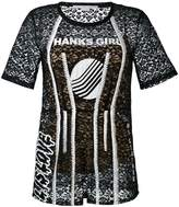 Stella McCartney embroidered lace T-shirt