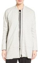 Eileen Fisher Women's Brushed Back French Terry Jacket