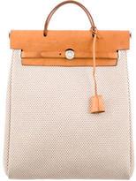 Hermes Toile Herbag PM Backpack