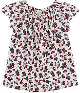 Bonpoint Cherry-Print Cotton Blouse