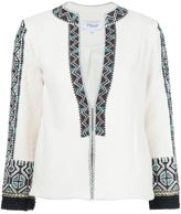 Derek Lam 10 Crosby embroidered fitted jacket
