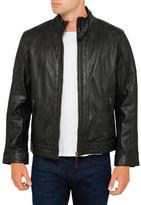 Boston Leather Biker Jacket