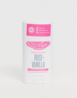 Schmidt's Rose & Vanilla Natural Deodorant