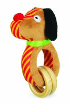 Manhattan Toy Classic And Modern Puppy Pal Ring Rattle