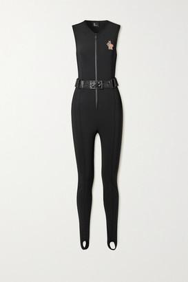 MONCLER GRENOBLE Shell-trimmed Belted Neoprene Ski Suit