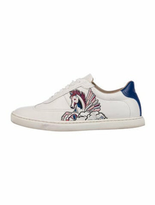 Hermes Pegase Pop Quicker Sneakers White