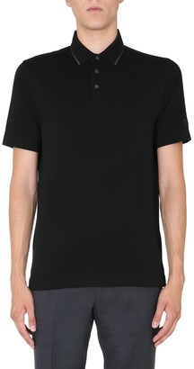 Ermenegildo Zegna Polo With Logo