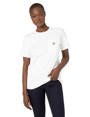 Carhartt Women's WK87 Workwear Pocket SS Tshirt