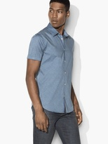 John Varvatos Abstract Dotted Shirt