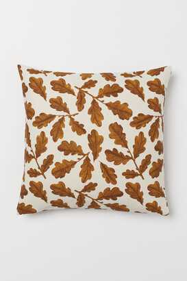 H&M Cotton Canvas Cushion Cover