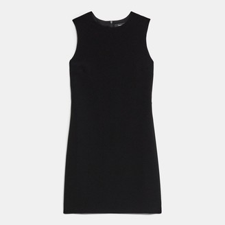 Theory Easy Shift Dress in Crepe