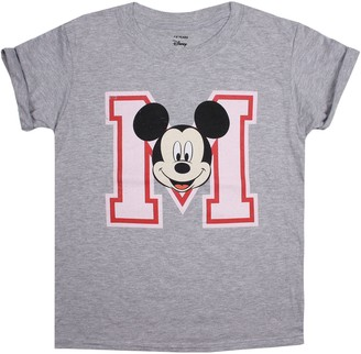 Disney Girl's Mickey Mouse College T-Shirt
