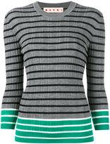 Marni striped top - women - Virgin Wool - 42