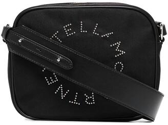 Stella McCartney Stella Logo studded camera bag