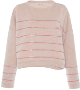 Manoush Embellished Striped Sweater