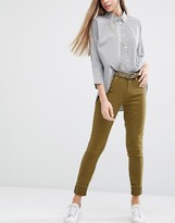 Paul Smith Khaki Skinny Jeans