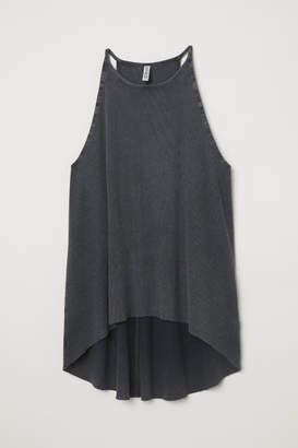 H&M Ribbed jersey vest top