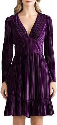 Shoshanna Laine Long-Sleeve Dress
