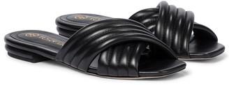 Tory Burch Kira leather slides