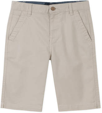 Lucky Brand Solid Flat Front Short